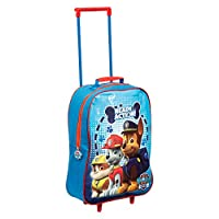 Children Kids Boys Paw Patrol Marshall Rubble Chase Travel Outdoor Fun School Trolley Bag