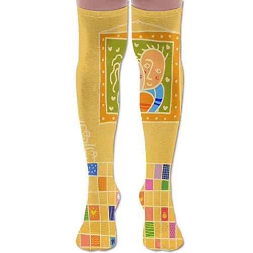 Sweat Home Unisex Knee High Long Socks Boot High Socks Length 60cm