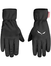 SALEWA Sesvenna Ws Finger Gloves, guantes para Alpinismo y trekking para hombre, Hombre, Sesvenna Ws Finger Gloves, negro, XXL