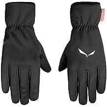 Salewa Sesvenna Ws Finger Gloves, guantes para Alpinismo y trekking para hombre, Hombre, Sesvenna Ws Finger Gloves, negro, XL