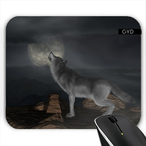 Mousepad - Wolf Tier Wildtier Niedlich by Grab My (Billig Mascot)
