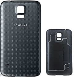 Just Mobile BATTERY BACK PANEL DOOR CASE FOR SAMSUNG GALAXY S5 i9600 Black
