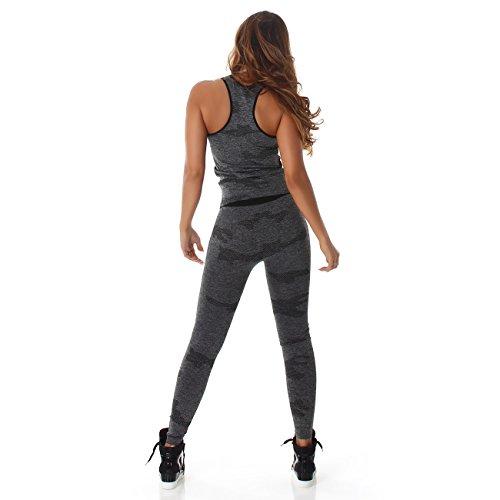 Fashion -  Completo sportivo  - Donna Schwarz MH-4