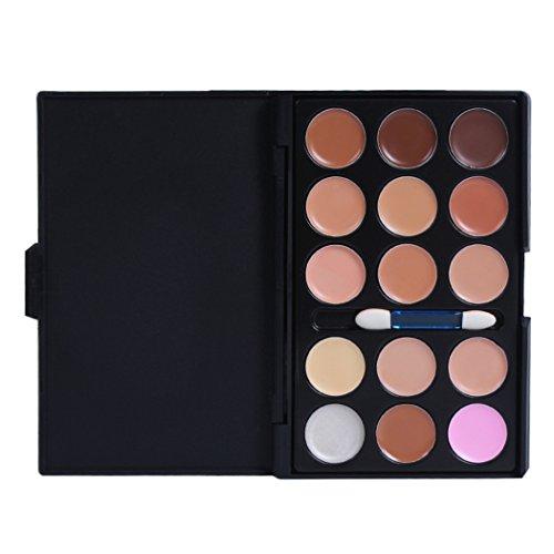 FantasyDay® 15 Couleurs Palette de Maquillage Correcteur Camouflage Crème Cosmétique Set - Convient Parfaitement pour une Utilisation Professionnelle ou à la Maison
