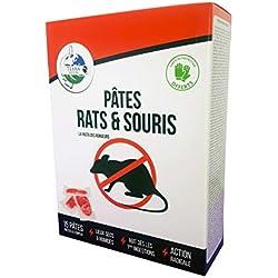 Terra Nostra Pâtes Rats & Souris - Raticide & Souricide 150g