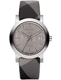 BURBERRY BU1774 - Reloj unisex, correa de cuero