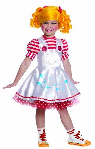 Spot-Splatter Splash Kostüm Deluxe für Mädchen Lalaloopsy