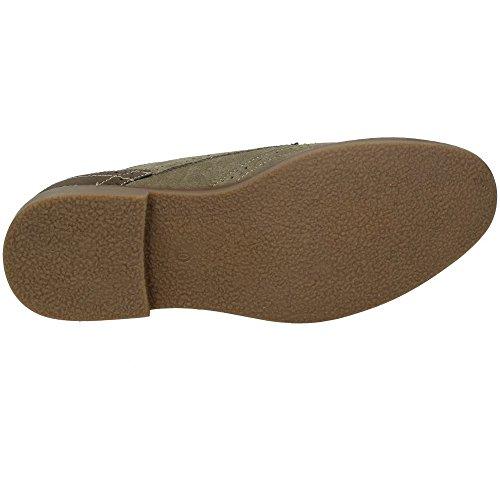 Scarpe Blucher XTI XTI Scarpe cordoncino Scamosciato Taupe