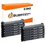 Bubprint 10 Toner kompatibel für Brother TN-2320 TN-2310 für DCP-L2520DW HL-L2300D HL-L2340DW HL-L2360DW HL-L2380DW MFC-L2700DW MFC-L2740DW Schwarz