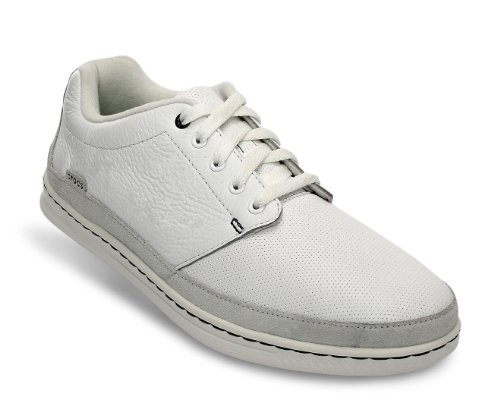 Crocs LoPro Lace-up Sneaker, Chaussures basses homme Blanco - White/white