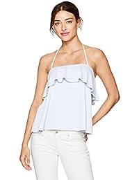 Amazon.it  CANOTTA - Bianco   Vestiti   Donna  Abbigliamento 293ecd0a20d