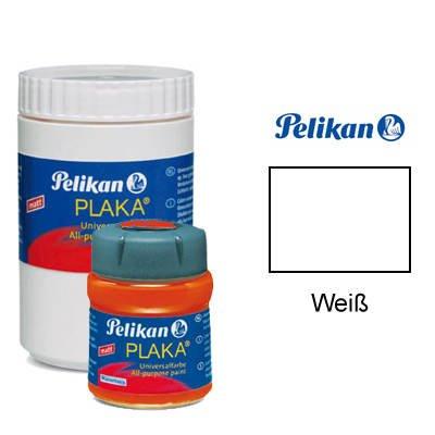 Pelikan Plaka-Farbe, 50 ml, Weiß