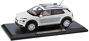 Norev - Citroën C4 Cactus W 2016-Pearl White&Dune Airbump 200 Piezas Only Vehículo Miniatura a Escala 1/18ª 181652, Color Blanco