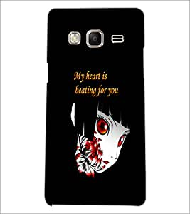 PrintDhaba Quote D-5366 Back Case Cover for SAMSUNG Z3 (Multi-Coloured)
