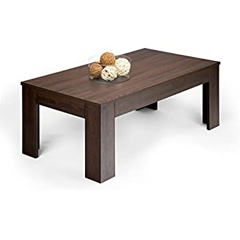 Mobilifiver Easy Living Room Table Wood Dark Oak 100 0 X 55 0 X H 40 0 Cm