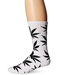 HUF Plantlife Crew Socks white / blanc Taille Uni