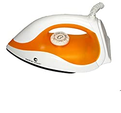 Eashan Power,EPX-100A 750 watt, BMW Light weight Electric Dry Iron(White & Yellow)