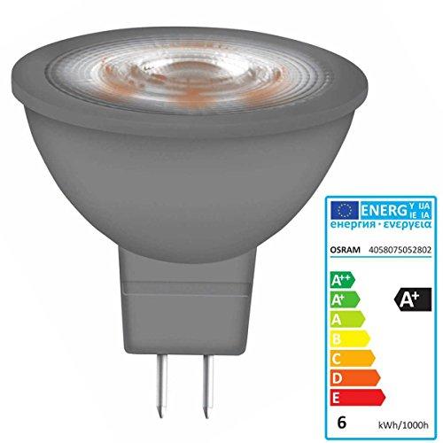 LEDVANCE OSRAM PARATHOM MR16 GLOWdim 35 ADV 5 W/827 GU5.3 12V LED-Reflektorlampen Dimmbar 345lm 1.800 K.2.7 -