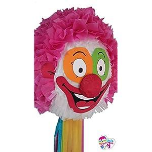 Piñata Clown 3D. (Optionaler Stick)