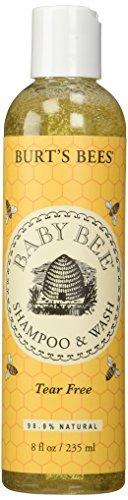 burts-bees-baby-bee-tear-free-shampoo-wash-8-ounce-by-burts-bees