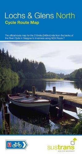 Lochs and Glens North: The official route map for the 215 mile ride from the banks of the River Clyde to Inverness (Sustrans Cycle Maps) por Sustrans