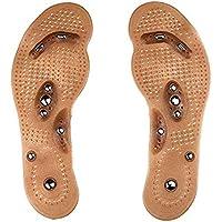 Aolvo Akupressur-Einlegesohlen für Frauen, 8 magnetische Steineinlagen können zugeschnitten werden, um jede Fußmassage... preisvergleich bei billige-tabletten.eu