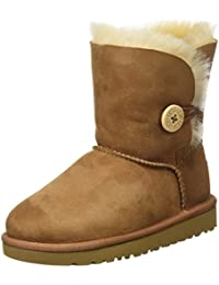 UGG Australia Unisex Babies' Bailey Button Standing Shoes