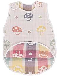 Fairy Baby Baby Saco de dormir de verano Cotton Gauze Wearable Blanket for Boys Girls Aprox