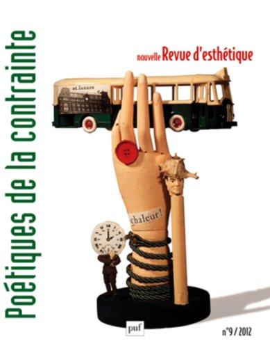 Nouvelle revue d'esthétique 2012 n° 9 par Collectif