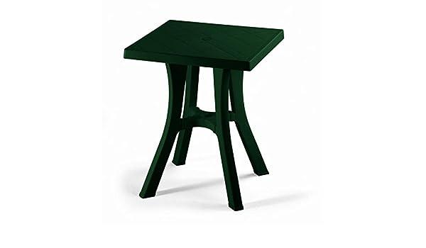 Table résine 70 x 70 Ideapiu Table carré pour extérieur ...