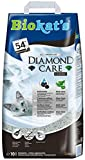 Biokat's Diamond Care Classic, litière pour chats - Litière agglomérante de qualité supérieure pour chats, au charbon actif et à l'Aloe vera - 1 sac en papier (1 x 10l)