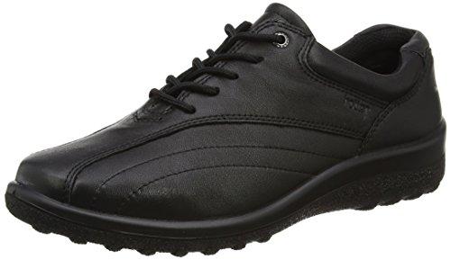 Hotter Tone, Chaussures à Lacets Femme, Noir Noir (noir)