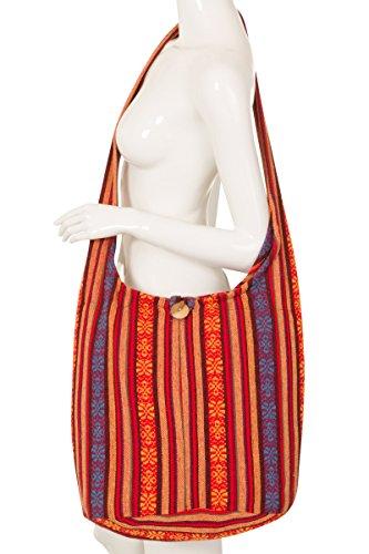 ThaiUK, Borsa a spalla donna Multicolore #82 #66