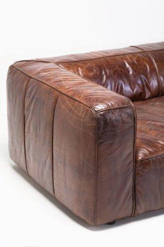 KARE Ledersofa Cubetto 3-Sitzer Leder - 5