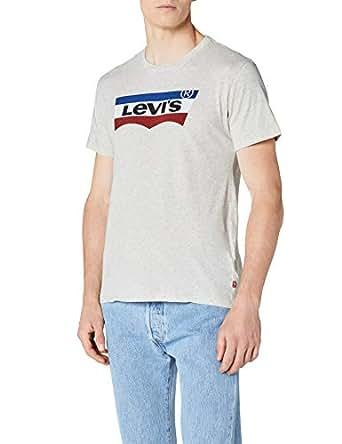 780b2c30a7a7 Levi s Batwing Number 3 T-Shirt Homme  Amazon.fr  Vêtements et ...
