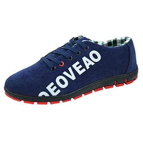 MMLC_Scarpe Uomo, Sneakers Traspiranti in Tessuto da Uomo Scarpe Casual da Corsa Leggere Scarpe da Ginnastica da Passeggio Scarpe Casual Resistente all'Usura