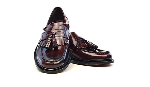 41e92332a5b The Prince - Oxblood Tassel Loafers Mod Ska Shoes (Euro 40
