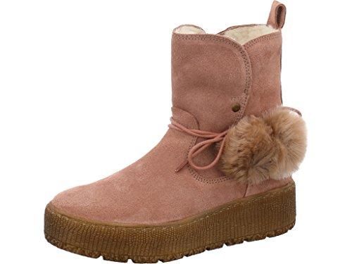 Tamaris 1-1-26972-39 Damen Stiefel, Stiefelette, Boot, Winterstiefel, Herbstschuh für die Modebewusste Frau, funktionaler Reißverschluss Rosa (Powder), EU 36