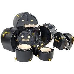 Hardcase HROCKFUS5 Drum Case Set 6 Piece Set