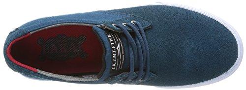 Lakai Mj, Herren Skateboardschuhe Blau (Ink Blue Suede)