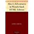 Alice's Adventures in Wonderland HTML Edition (English Edition)
