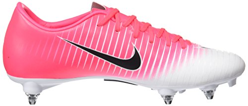 Nike Mercurial Victory Vi, Chaussures de Football Entrainement Homme Rose (Racer Pink/black-white-white)