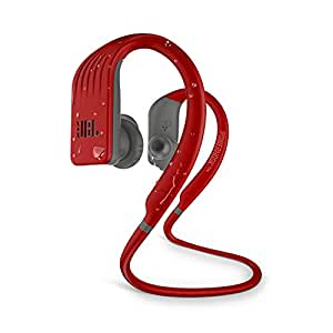 JBL Endurance Jump Waterproof Wireless Sport in-Ear Headphones with One-Touch Remote (Red)