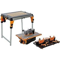 Triton Workcentre TWX7 Établi avec modules table de défonceuse/banc de scie d'entrepreneur