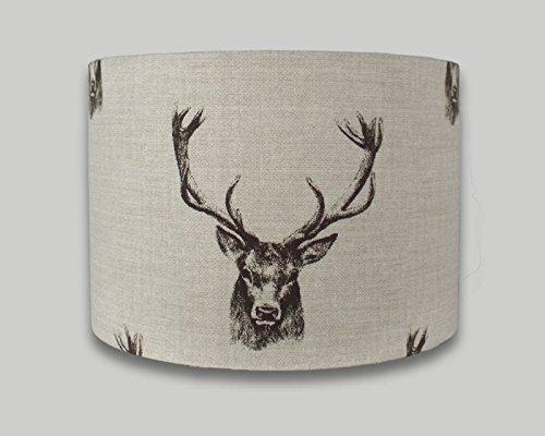 stag-deer-head-drum-lampshade-20cm-25cm-30cm-35cm-40cm-lamp-shade-lightshade