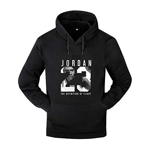 Basketball Hoodie Men AJ Coat Sports Loose Long Sleeve Hood 23 Jordan (Jordan Schuhe Rucksack)