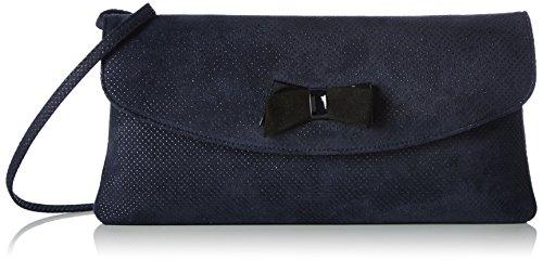 peter-kaisermelissa-borse-a-tracolla-donna-blu-blau-notte-speckle-schwarz-lack-suede-167-28x14x2-cm-
