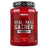- Prozis Real Mass Gainer Professional Pulver 2722g - Erdbeer-Ergänzung - Weight Gainer Protein für den Muskelaufbau und Instandhaltung - Mehr als 400 kcal pro Portion - 24 Portionen