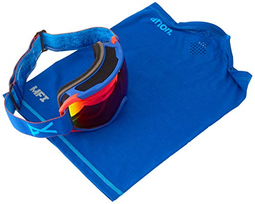 Anon Herren Circuit MFI Snowboardbrille, Blue/Sonar Infrare
