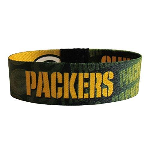 Siskiyou NFL Green Bay Packers Stretch Armbänder, Stretch, grün (Band Packers Bay Green)